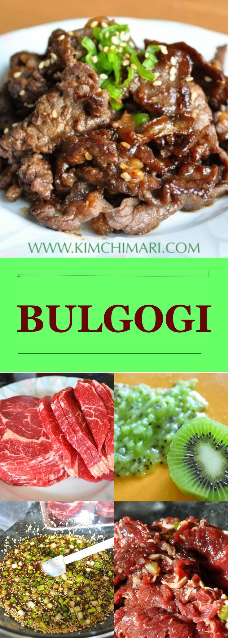 Mejores 316 imgenes de korean food recipes en pinterest recetas the classic korean bulgogi best if cooked over a open fire or grill nothing forumfinder Images