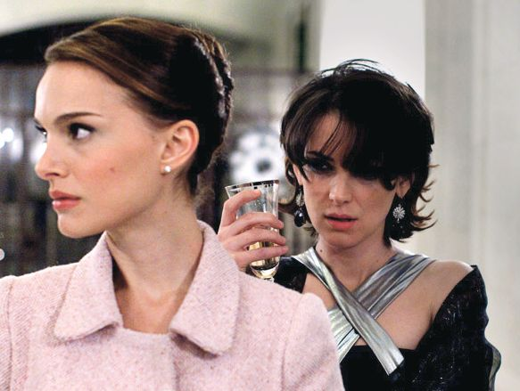 I wrote (to) Natalie and I got her something when I had finished filming, saying, 'I'm so sorry I had to say all those horrible things.  - Winona Ryder on working with Natalie Portman in Black Swan (2010)
