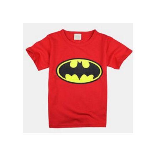 chlapecké triko batman červené. chlapecké triko batman červené