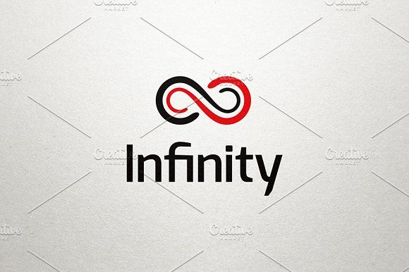 Infinity Logo by Made by Arslan on @creativemarket