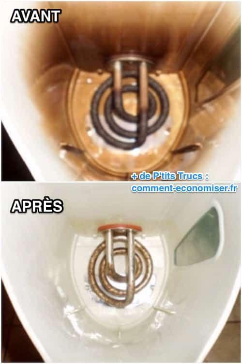 Il existe un produit super efficace pour détartrer votre bouilloire en un…