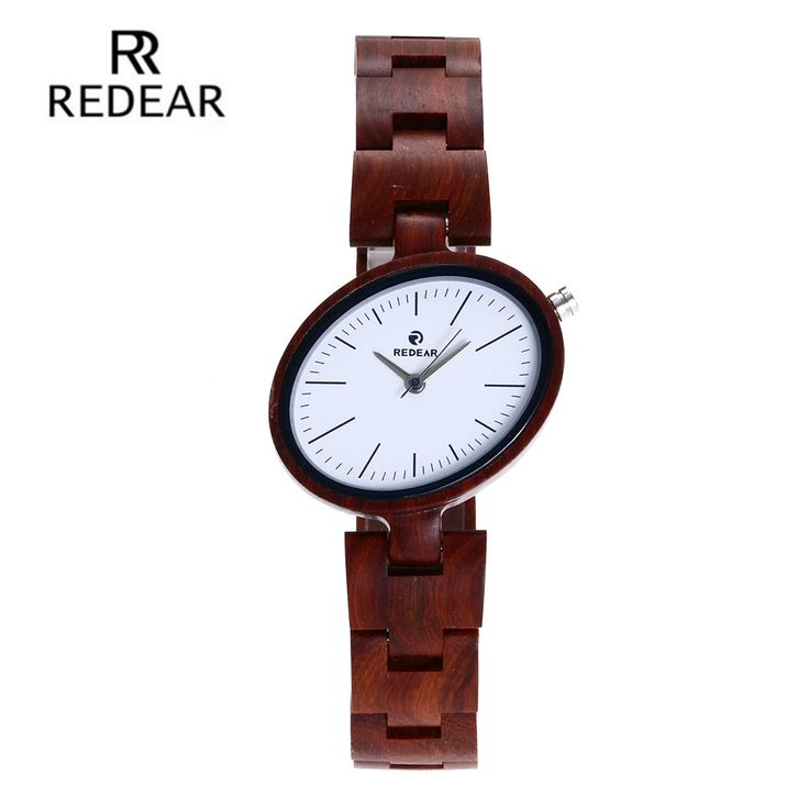 Find More Women's Watches Information about REDEAR Fashion Women Wood Watches Quartz Wristwatch Gift for Lady brand luxury Red Sandal ladies Wooden Watch Girls,High Quality gifts for ladies,China gift gifts Suppliers, Cheap gifts for women from alkvision Store on Aliexpress.com