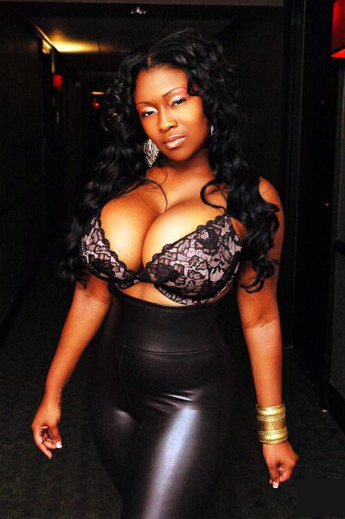 Black women with very big breast good