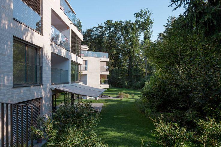 Landschaftsarchitektur / Wohnüberbauung Greenside #landscape #architecture