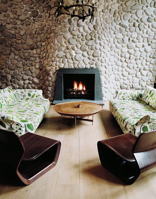 Josef Frank. Designer Marc Newson's house.