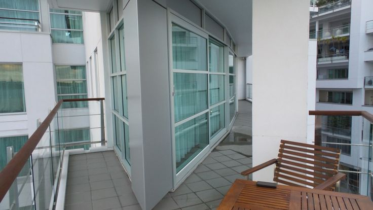 Bow Suite Balcony at the Hilton Auckland Hotel, Auckland