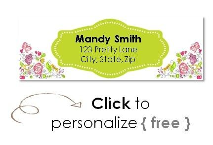 Free mailing labels