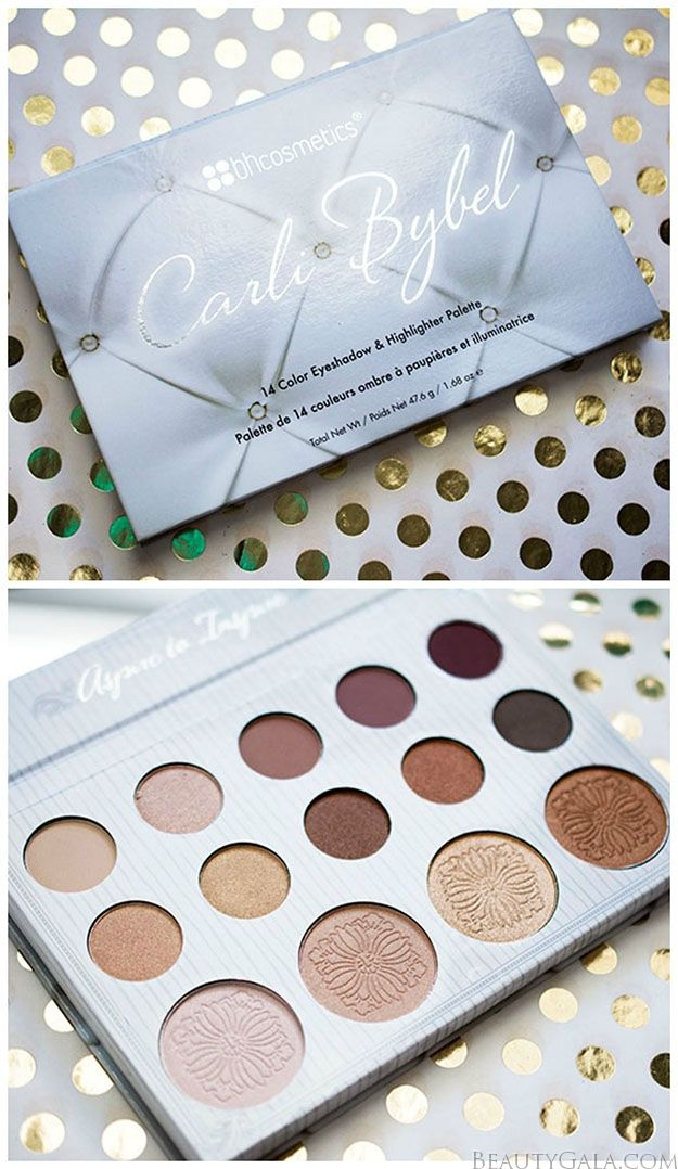 BH Cosmetics Carli Bybel Palette Swatches and Review #Cosmetics #Makeup #Beautyinthebag