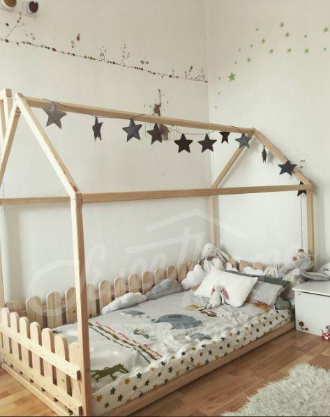 17 best ideas about toddler floor bed on pinterest. Black Bedroom Furniture Sets. Home Design Ideas