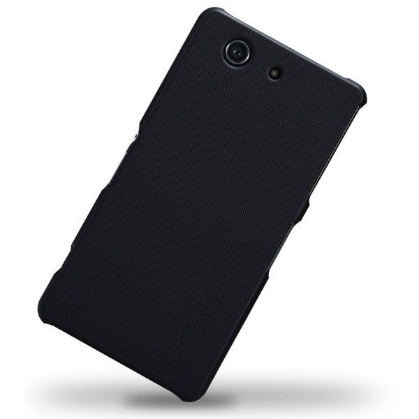 Nillkin Matte Textured Super Shield Hard Shell Case Cover for Sony Xperia Z3 Compact - Black