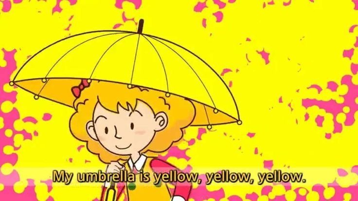 Is this your umbrella? - No, it isn't. - English song for Children - Let...
