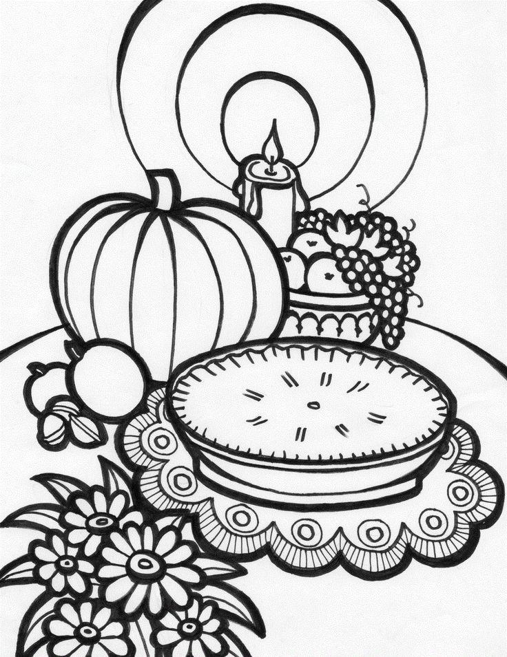 54 besten Thanksgiving Bilder auf Pinterest | Erntedank ausmalbilder ...