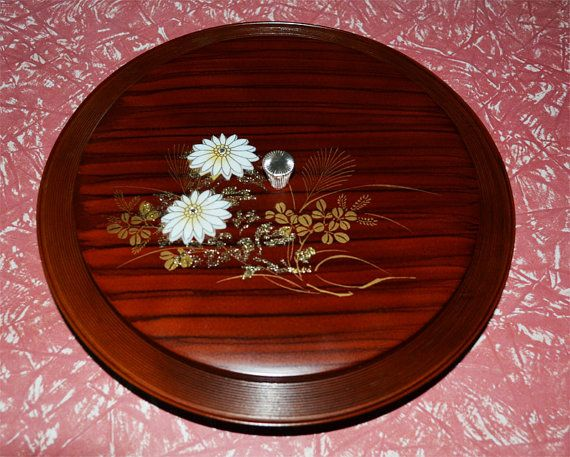 Vintage Japanese Melamine Serving Dish - kitsch - Made in Japan