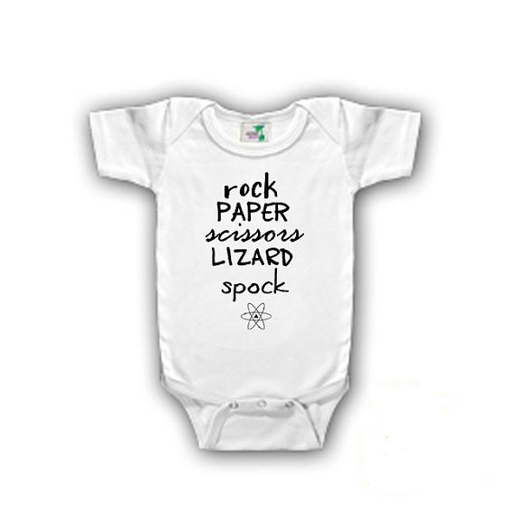 Big Bang Theory Onesies I started with a Big by EllaKateBoutique, $15.00