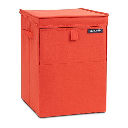 From 21.83 Brabantia Stackable Laundry Basket 35 L - Warm Red