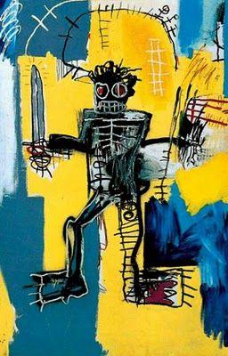 Basquiat: Warrior (1981).