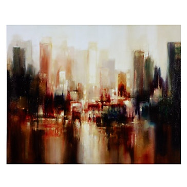 $399.95, i like the softness in this piece as it depicts a modern city