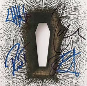 metallica death magnetic album cover | Metallica- Signed CD Booklet Only Death Magnetic Auction (0067-2300502 ...