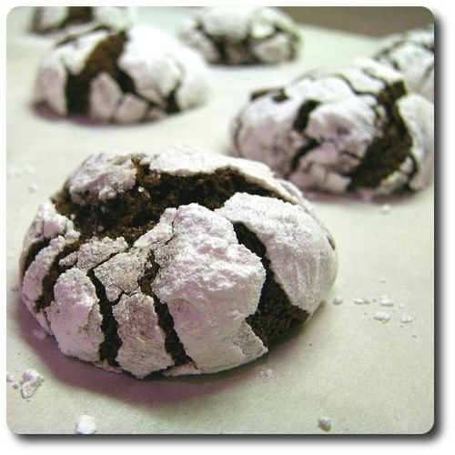 Chocolate Crinkles | Food and Recipes | Pinterest