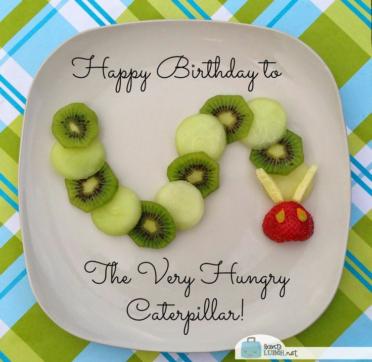 BentoLunch.net - What's for lunch at our house: The Very Hungry Caterpillar Snack & Contest