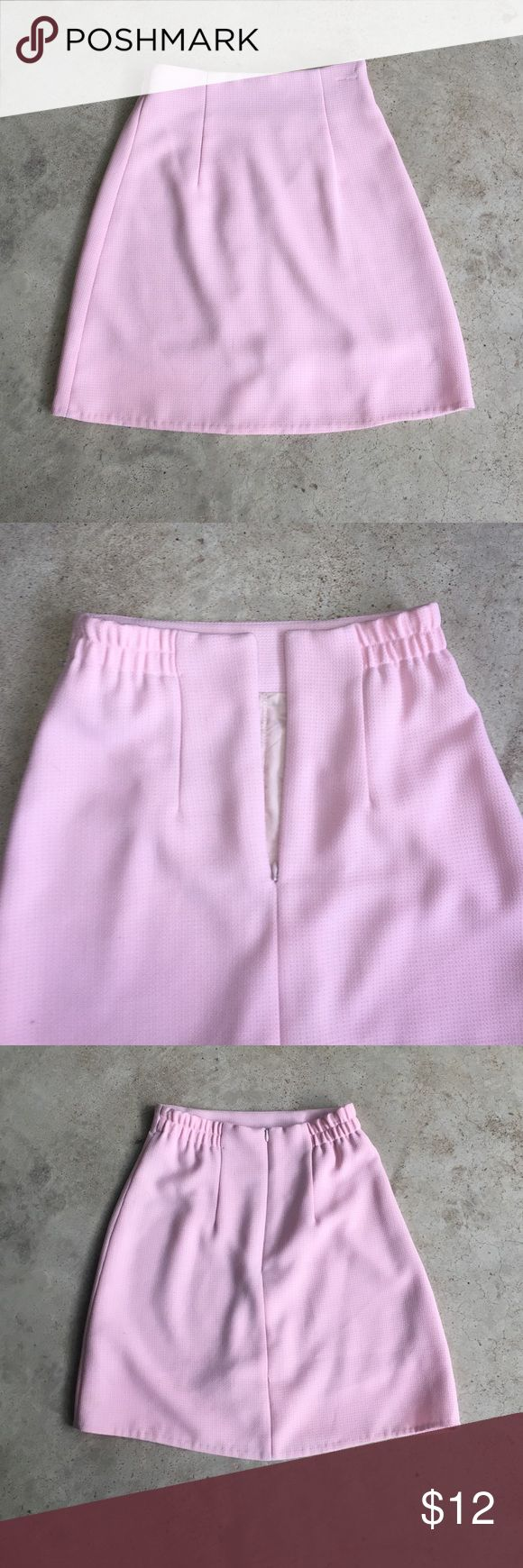 Boutique: Baby Pink Skort Baby Pink Skort • Has a stretch around the waistline • Has a slip on the inside as seen in photo • zipper can be located on the back • No Brand • Bought in a small Boutique in Manhattan • Open to offers • Great Condition • Brand used for exposure Anthropologie Shorts Skorts
