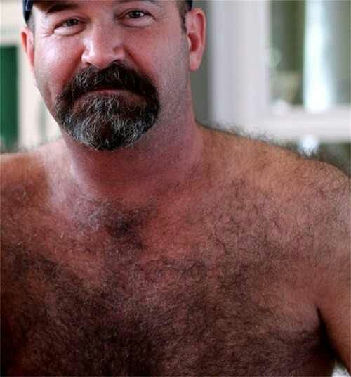 sexy naked hairy muscular older men