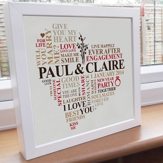 Best 25+ Personalised engagement presents ideas on Pinterest ...