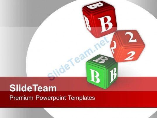 0413 B 2 B Cubes Business PowerPoint Templates PPT Themes And Graphics #PowerPoint #Templates #Themes #Background