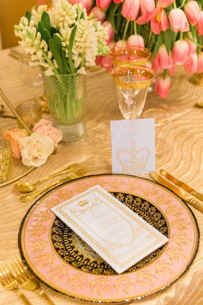 Opulence + Colourful Statement Floral Design at the Karen Tran Royal Gala