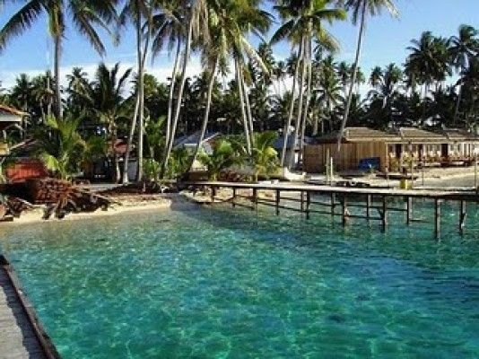 Eloknya wisata pulau derawan - Kalimantan Timur