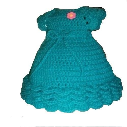 Crochet Patterns Doll Dresses : Crochet Doll Dress Pattern for American Girl Doll or other 18 inch ...