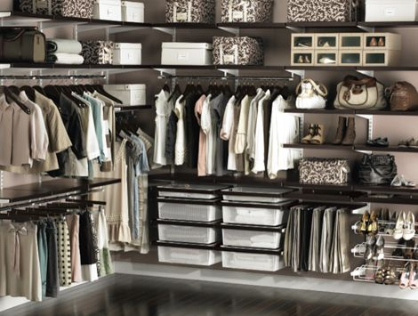 Make the most out of every inch of your closet with chic + functional organizational items from The Container Store.