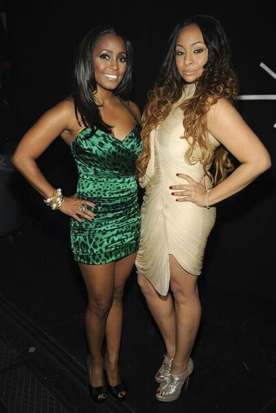 Keisha Knight Pulliam and my girl, Raven Simone lookin fierce!