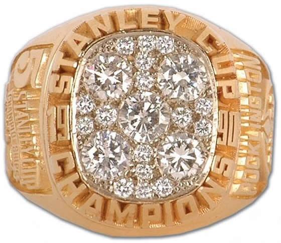 Edmonton Oilers - 1990 Stanley Cup Ring