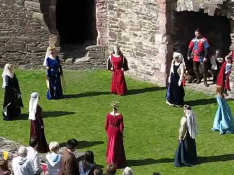 Medieval Dance Video. This site also has many ideas for organizing a medieval-themed party!