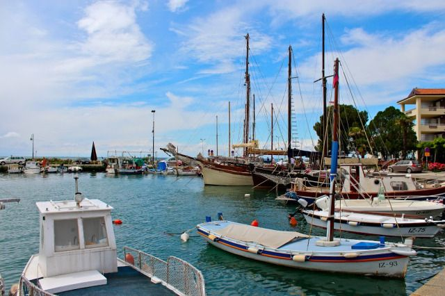 A Sunny Afternoon in Izola, Slovenia | And Here We Are...