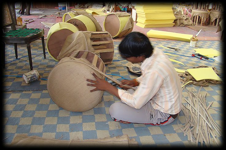 Making poofs India | Flickr - Photo Sharing!