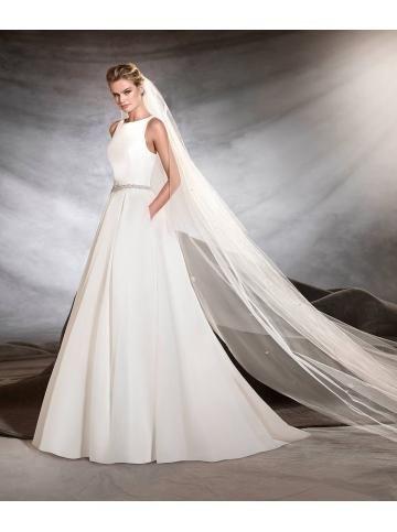 robe de mariage taffeta glamour
