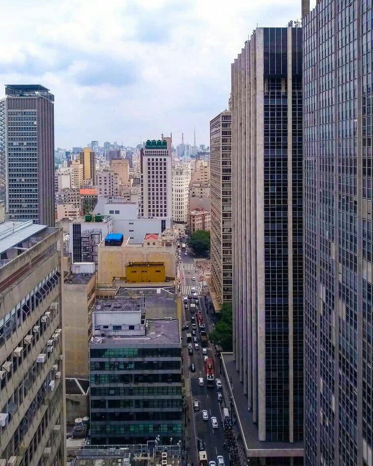 Libero Badaro Street Sao Paulo Brazil Em 2020 Urbanismo Sao