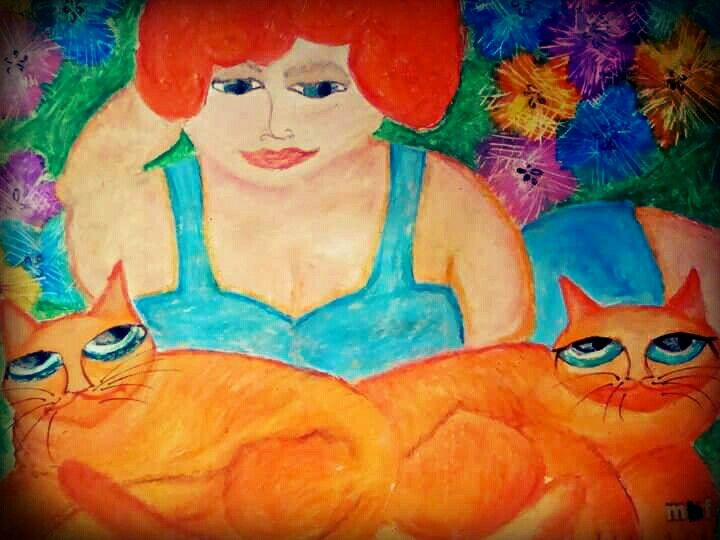 Belladonna with kiets. ~MBF. ◇pastel art◇ #queenm ♡
