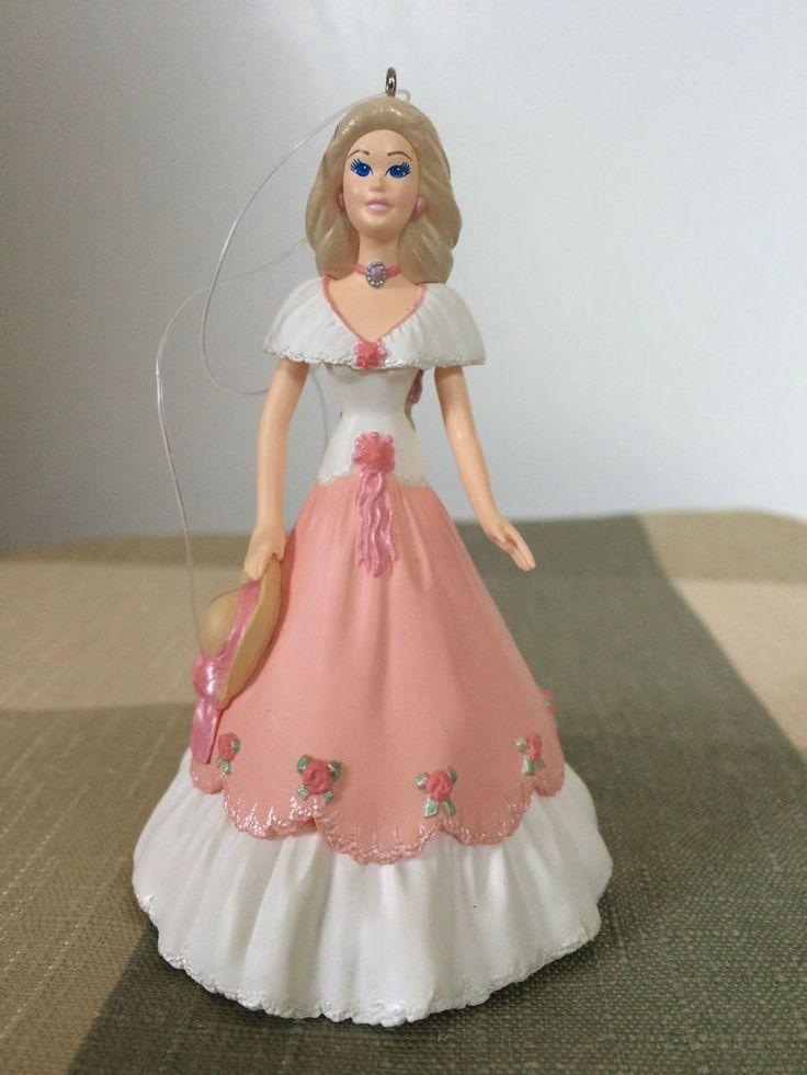 Springtime Barbie Ornament Collectors Series 1997 Hallmark Handcrafted