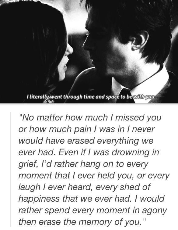 Damon and Elena | The Vampire Diaries