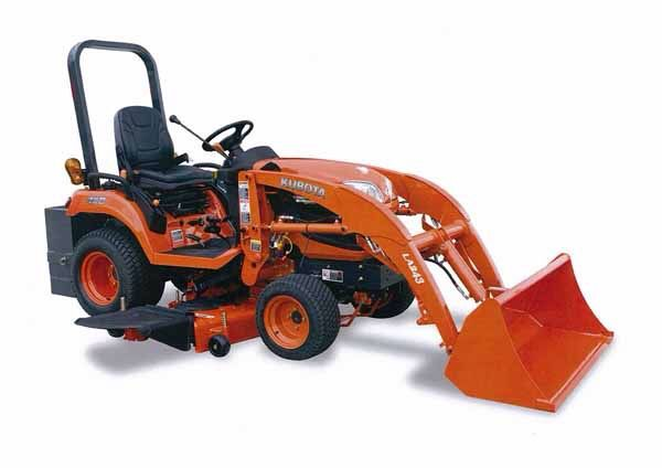Kubota Tractor With Mower And Loader Kubota Bx