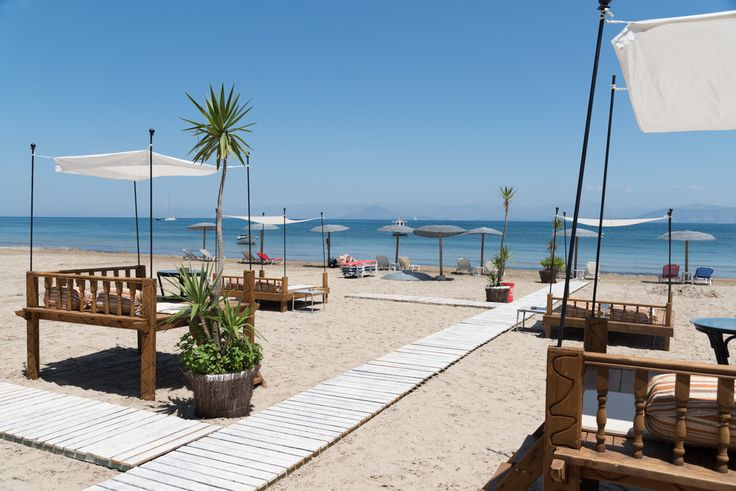 Kavos beach is the perfect playground for everyone. Children are safe to swim in the shallows while sports fans can try activities such as paragliding or windsurfing. You can hop on a jet ski or take a banana boat ride, or just take it easy, top up your tan and take a dip in the clear waters.