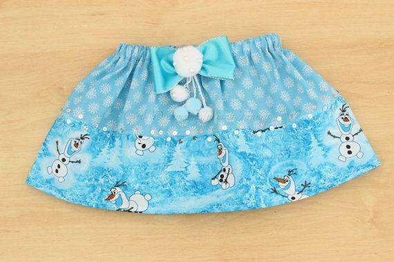 Olaf Skirt Elsa Skirt Olaf Tutu Olaf Tutu Dress by GirlsDreams