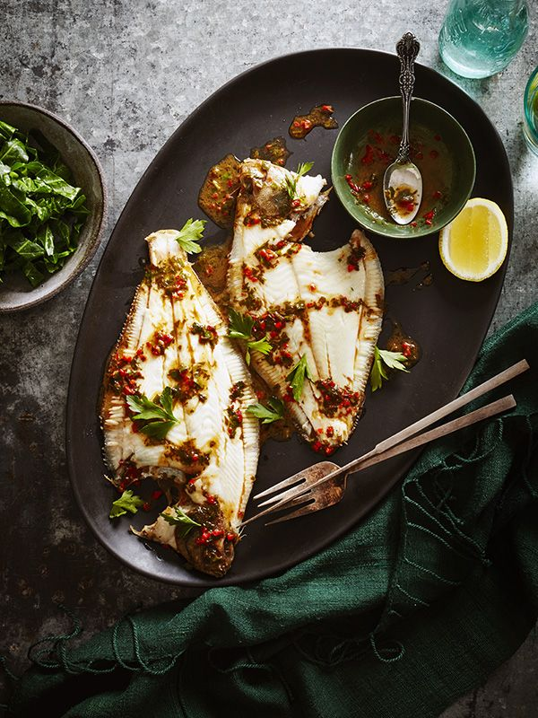 Dab with vinegar butter: This recipe for dab with vinegar butter is quick and easy to make and under 500 calories. If you can't get hold of dab, any flat fish such a lemon sole will work
