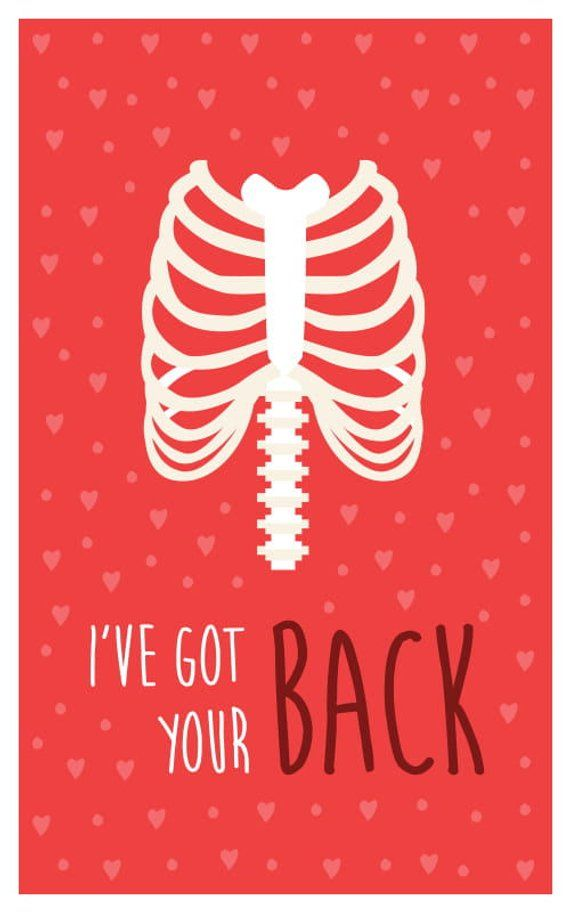Funny Medical Bones Valentine S Day Card Download 8 Printable Cards Great For Physiotherapists Doctors Med Students Nurses Medical Humor Medical Jokes Valentines Cards