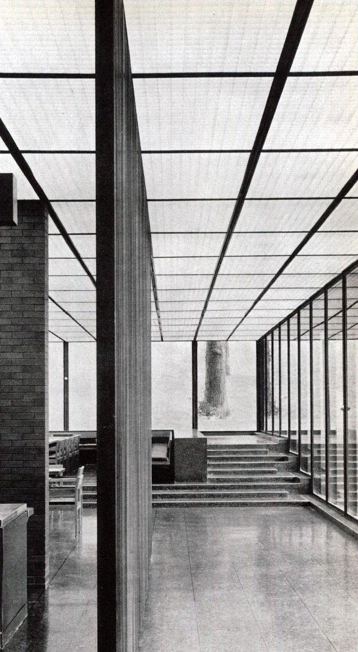 Eero Saarinen, Deere & Company, Moline, Illinois.
