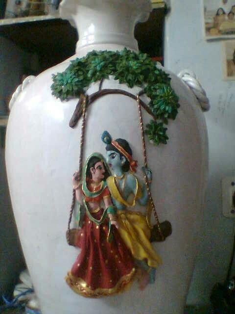 Lamasa clay work