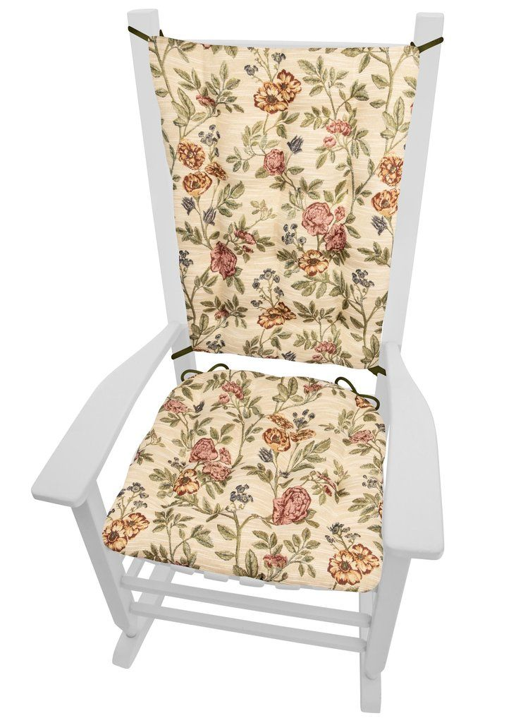 Super La Belle Floral Brocade Rocking Chair Cushions Latex Foam Uwap Interior Chair Design Uwaporg